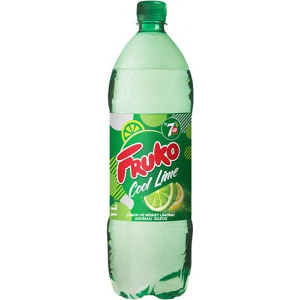Fruko Cool Lime Gazoz 1 LT